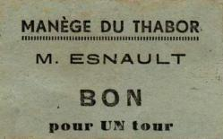 Ticket manege thabor